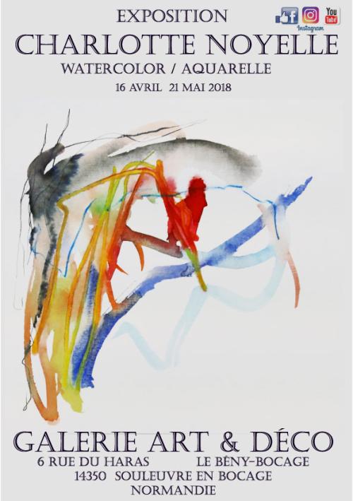 Affiche aquarelle mai 2018